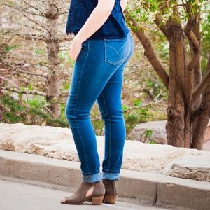 Calvin Klein Ultimate Skinny Blue Stretch Jeans